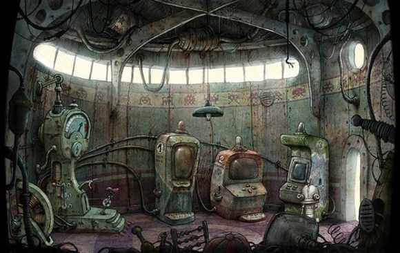 Machinarium  Interview Jakub Dvorský  Amanita Design