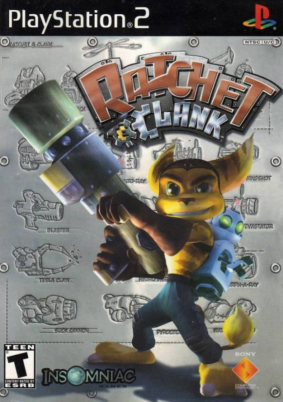 Insomniac Games Ratchet & Clank cover