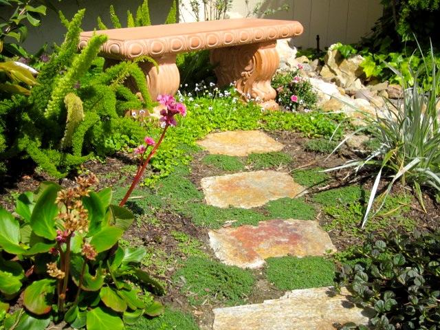 no grass front yard ideas | Bountiful Backyard on No Grass Yard Ideas id=58085