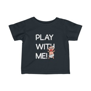 Play with me explorer (parental guidance required) infant t-shirt - front - black