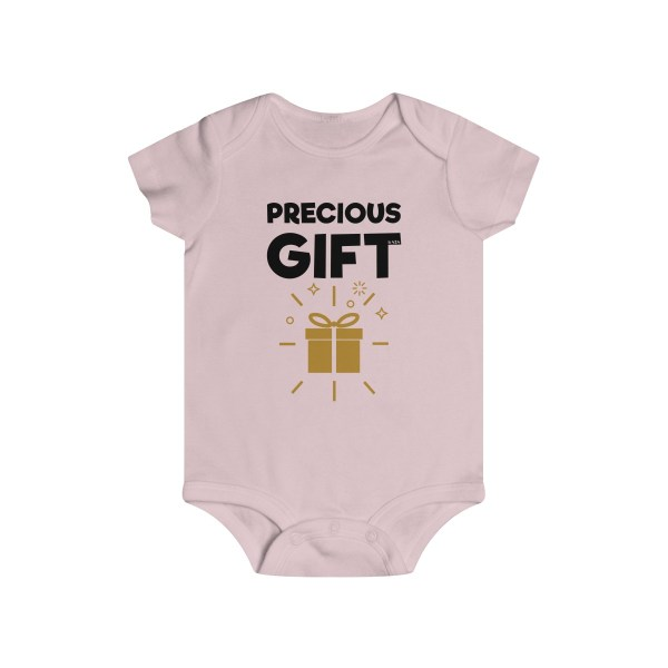 Precious gift infant onesie - light pink
