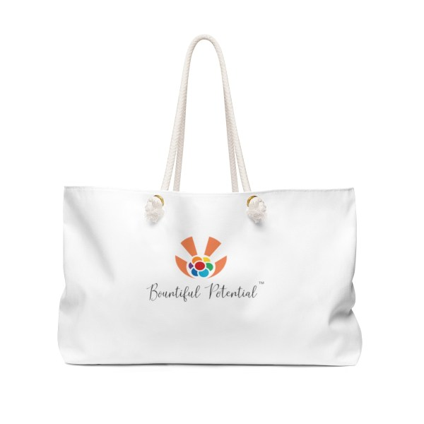 Bountiful Potential weekender tote bag