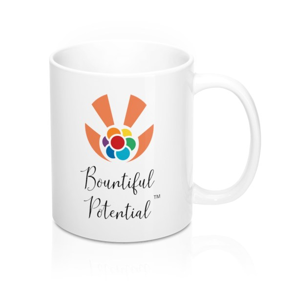 This house is filled with bountiful potential left-handed mug - back