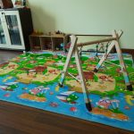 Our baby's play area