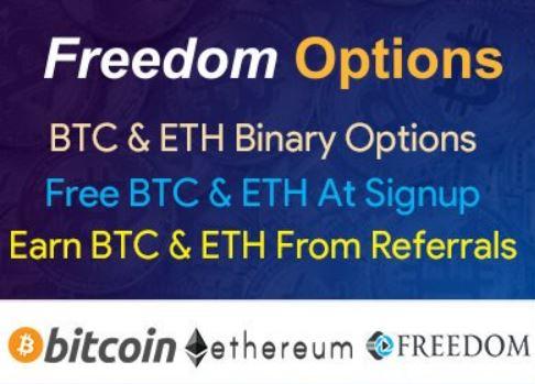 FreedomOptions (FDM) Airdrop – Receive BTC, ETH  & FDM after registration