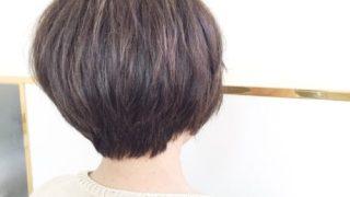 襟足スッキリショート(^^)