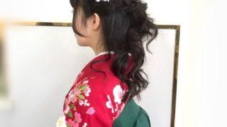 袴の着付けとヘアアレンジ♪