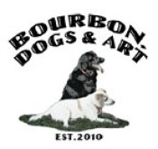 Bourbon, Dogs and Art Logo