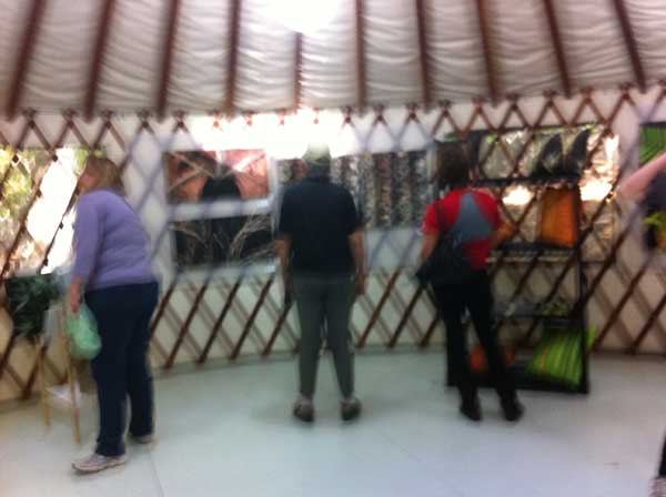 People in Yurt