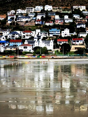 Fish Hoek houses, South Africa