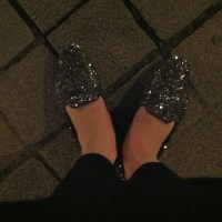 We'll always have Paris... (or how glitter loafers make your toes bleed)