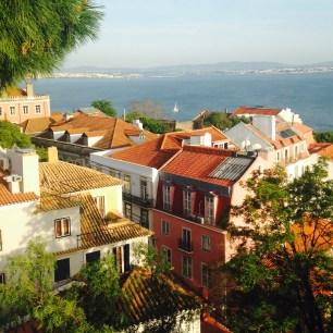 Vue depuis le Castel Sao Jorge