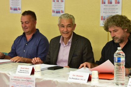 Desk tennis: Le Creusot unveiled all his ambitions at his common assembly