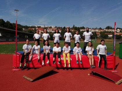 LE CREUSOT: He goes out once more for the Athletics part of the college middle