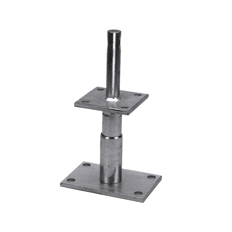 pied metal reglable wurth 140 mm