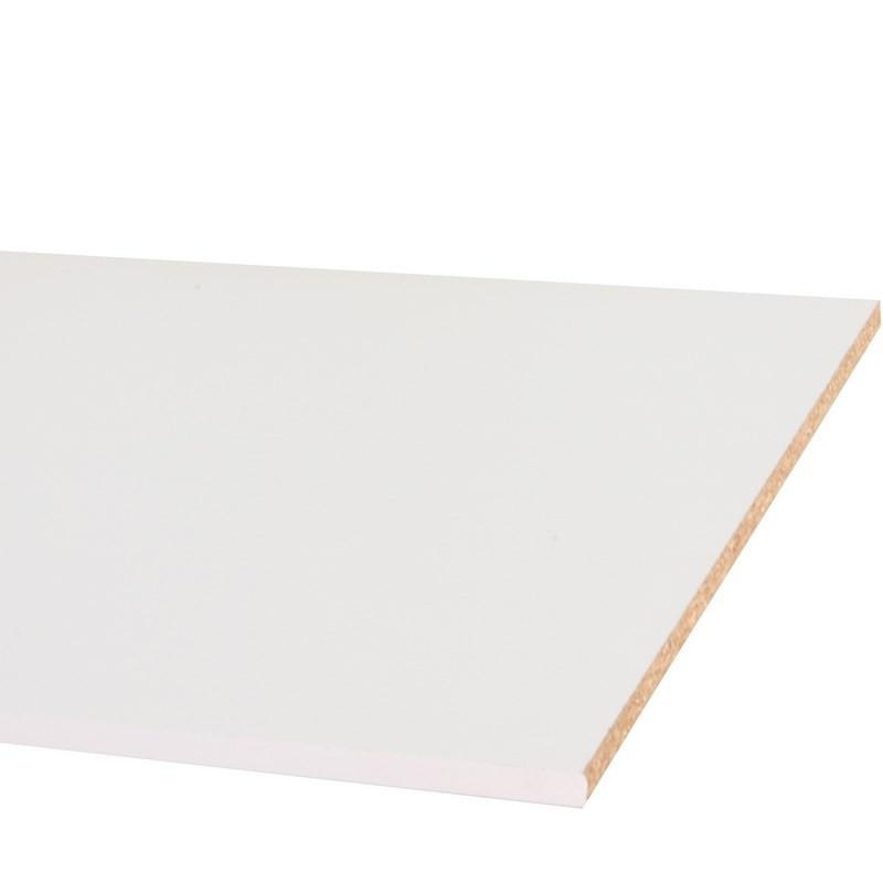 panneau melamine blanc 18 mm en largeur de 30 a 80 cm