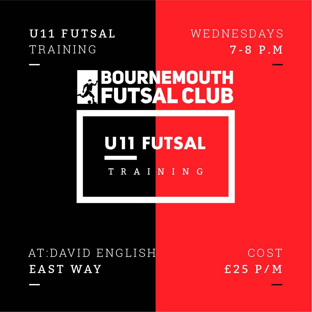 U11 Futsal Training Bournemouth