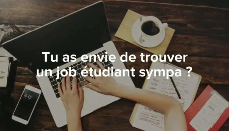 Job étudiant - Top Solutions pour étudier et travailler en même temps !