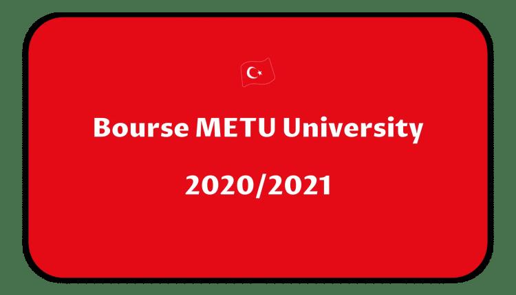 Bourse METU University 2020