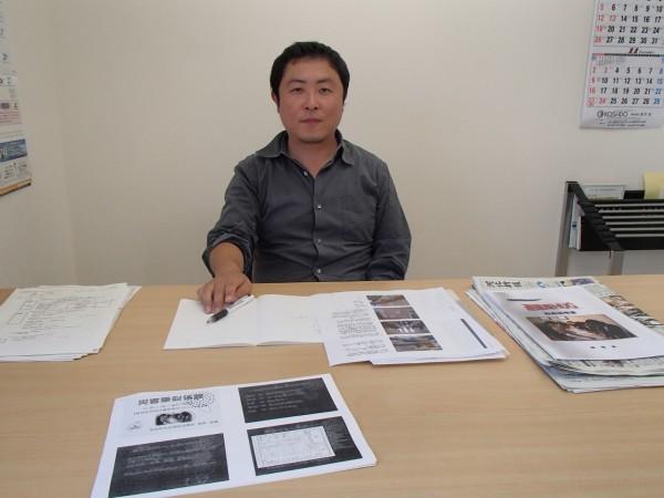 東松島市生活復興支援センターの渡邉さん