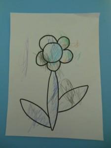 Activité pédagogique : premier coloriage