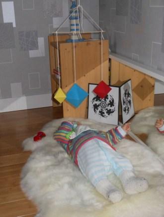 Coin bébé Montessori nido