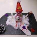 Décoration de Noel rapportée de l'école par Lisette
