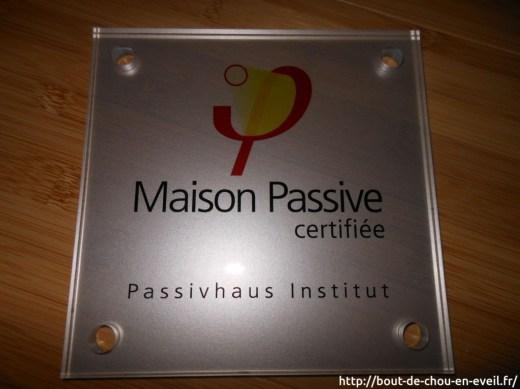 Maison passive certifiée Passivhaus