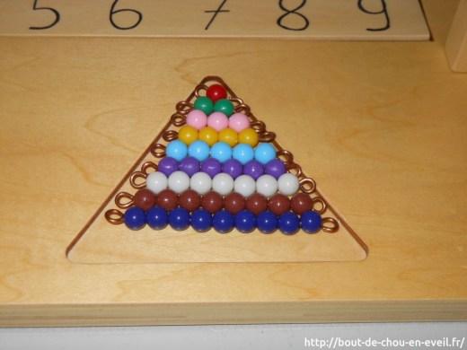 Activités Montessori nombres de 1 à 9