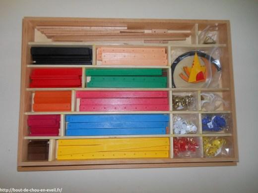 Matériel de géométrie Montessori