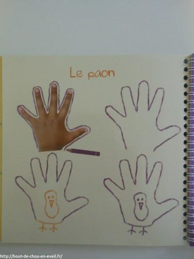 Dessine avec tes mains
