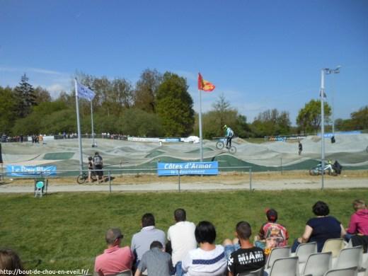 course de BMX