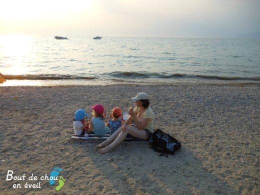 Vacances Lac de Garde Bout de chou en éveil