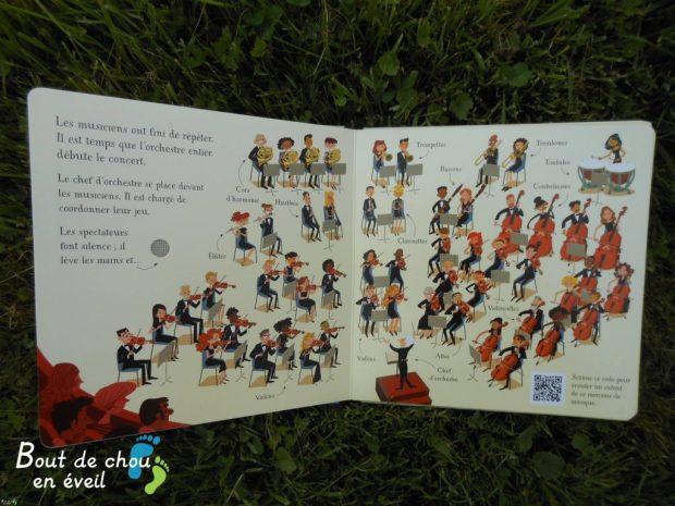 Livre sonore l'orchestre Usborne