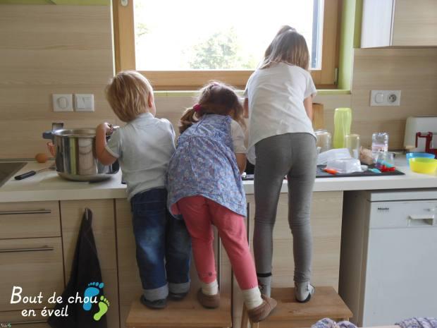 Aider à la cuisine