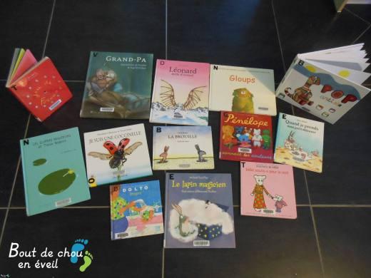 Selection de livres enfants