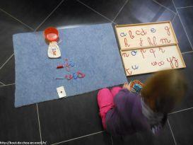 Activités Montessori écriture et lecture