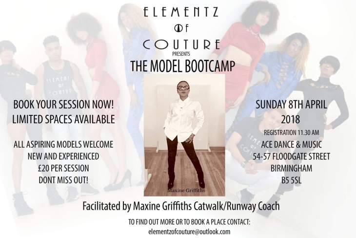 Elementz of couture model bootcamp