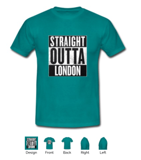 straight outta London green