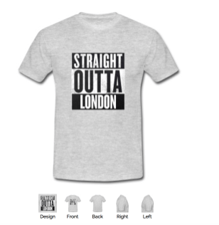 straight outta London gray