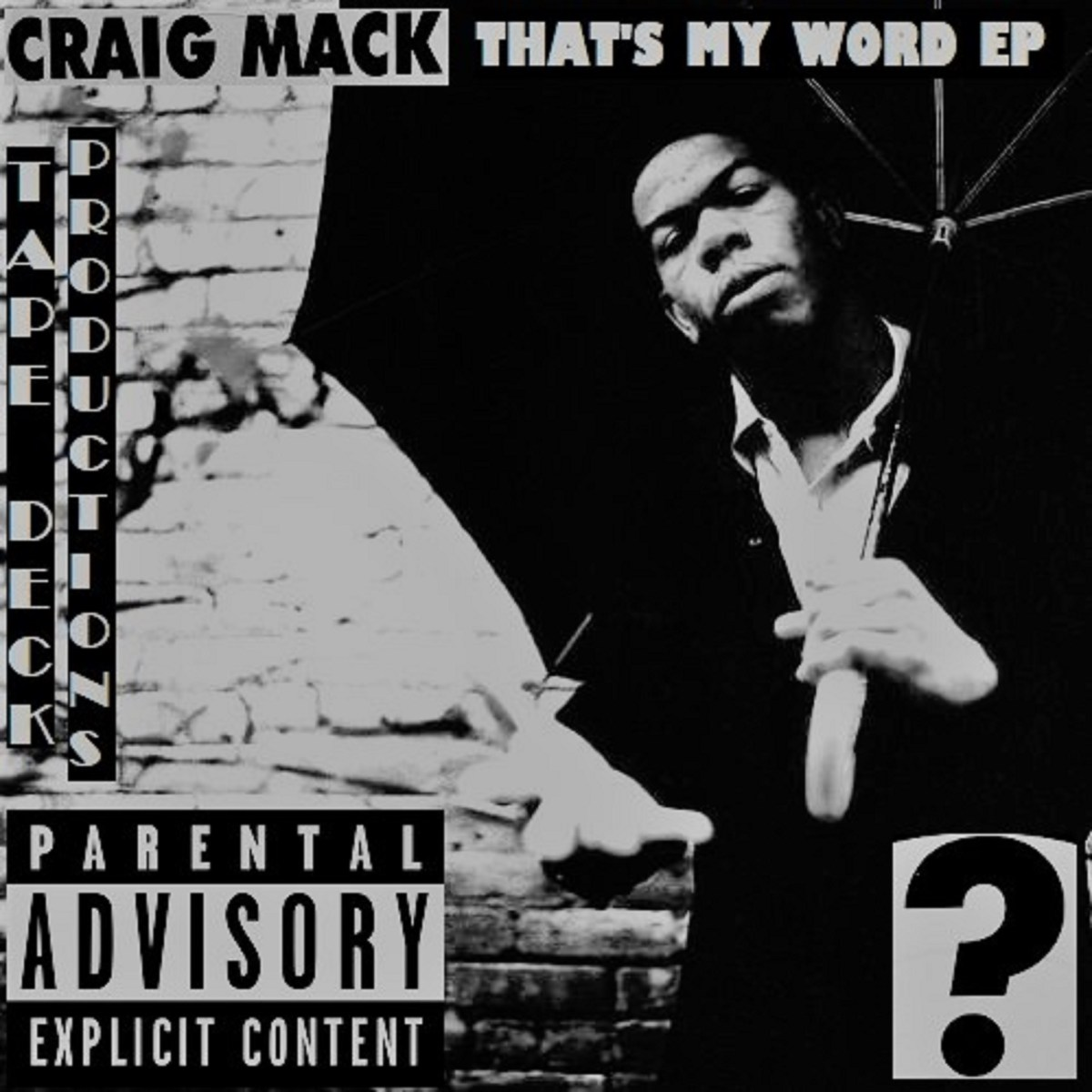Craig Mack - That's My Word EP (Stream + Purchase)