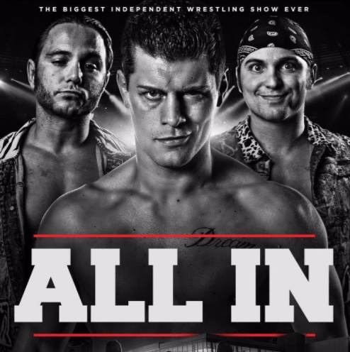 WrestleBIZ: ALL IN (Pay Per View Highlights)