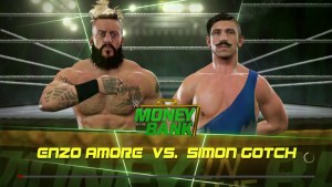 Enzo Amore on heat with Simon Gotch WWE | VIDEO