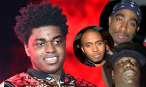 Kodak Black suggests fans put him in the same category as Nas, The Notorious B.I.G. and 2Pac!
