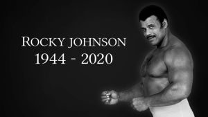 Reports of Drama at Rocky Johnson Funeral