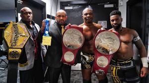 Wrestling's BLACK RENAISSANCE!!! 1st time in HISTORY multiple CHAMPIONS!!