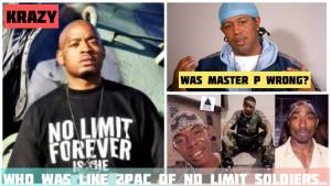 """Krazy 504 Boy says MASTER P Is WRONG On NO LIMIT CHRONICLES? Talks MAC, Soulja Slim, """"2Pac Of New Orleans!"""" Moniker"""