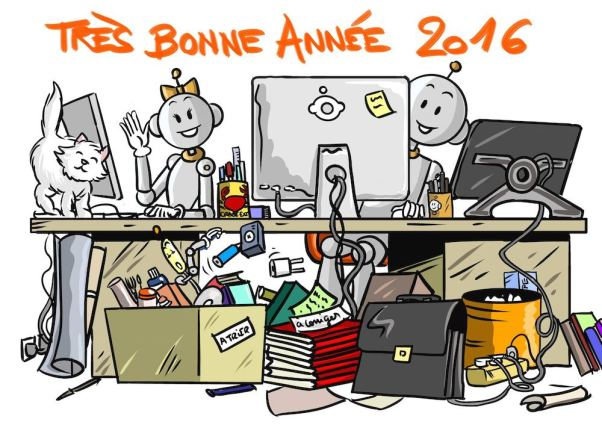 Tres bonne annee 2016 BDG