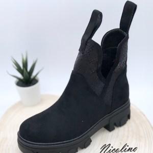 Boots Kallie noire