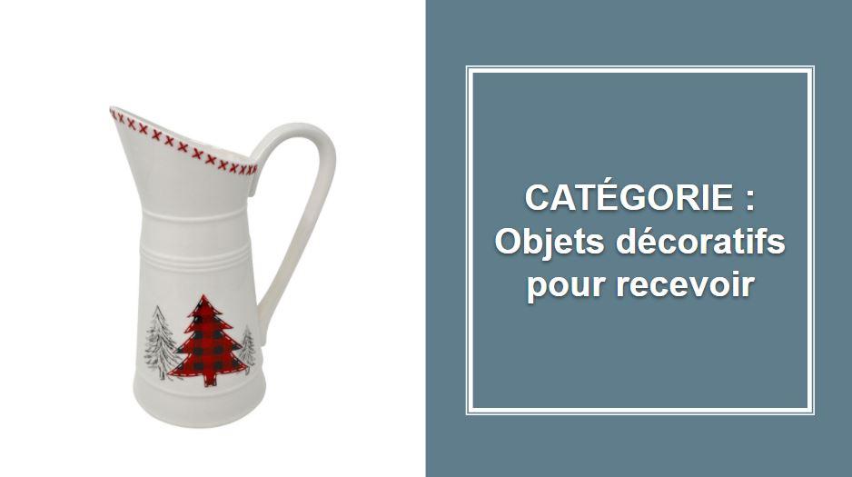 CATÉGORIE : Objets décoratifs pour recevoir